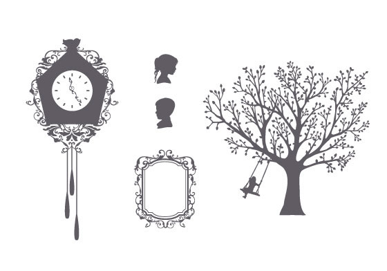 crafting scrapbooking silouette graphic