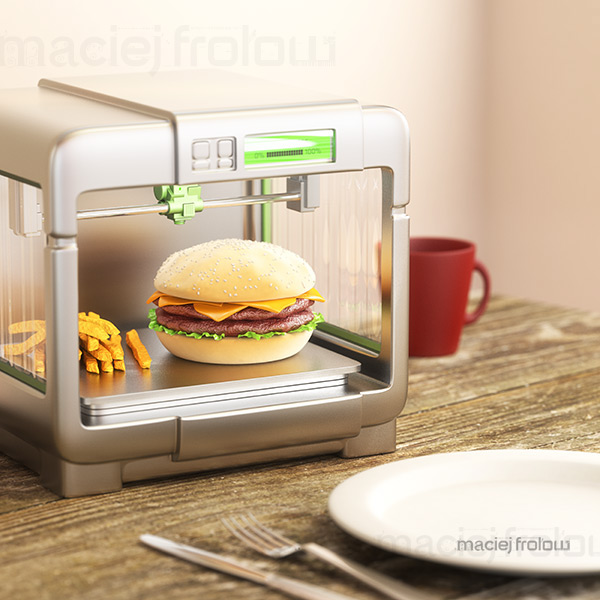 3D Printing Food On Behance