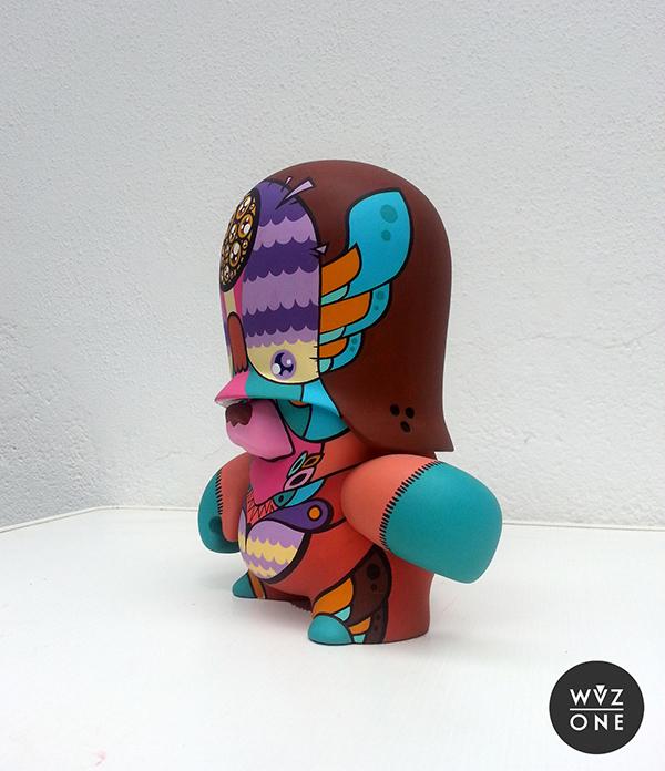 Wuzone Custom Dunny Teddytroop Kidrobot adfuture leviatan leviattan DIY wip artoy vinyl commission colors