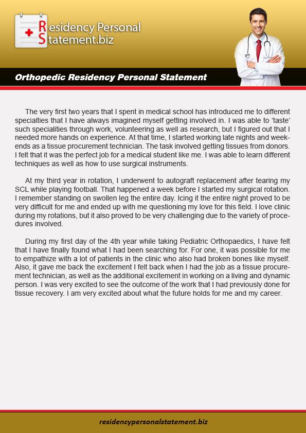 personal statement fellowship nephrology