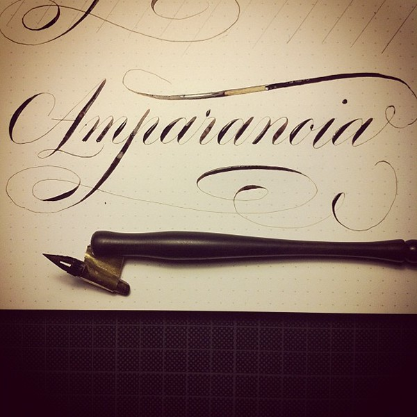 Some Copperplate Calligraphy On Behance