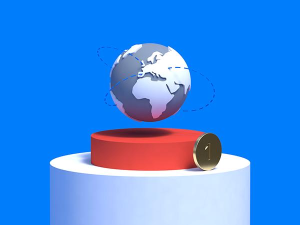 3D Illustrations for Revolut