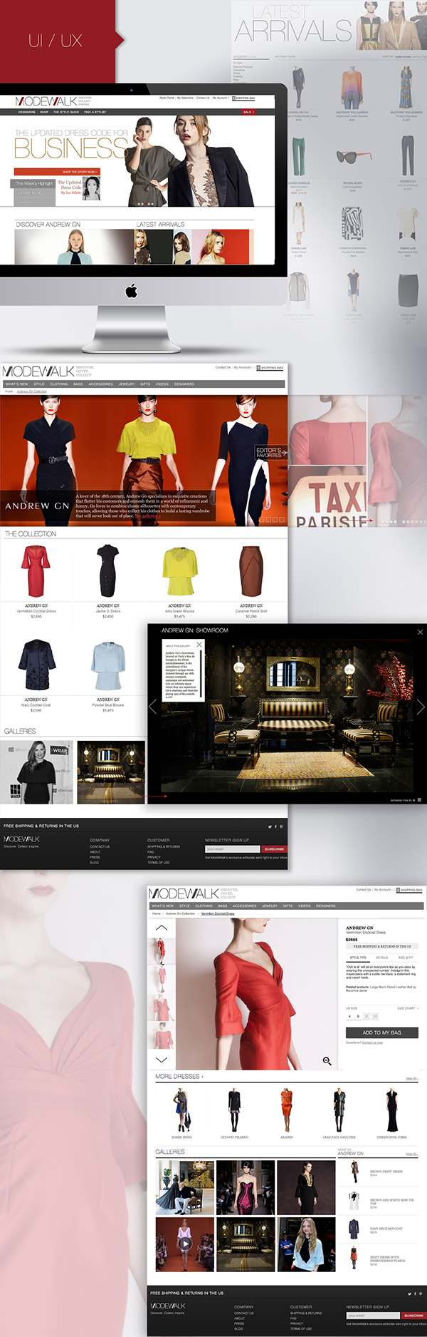 design UI ux user interface user experience Full Brand print Ecommerce Web Website site videos editorial