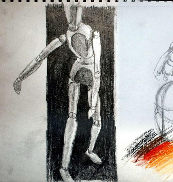 Paintings drawings