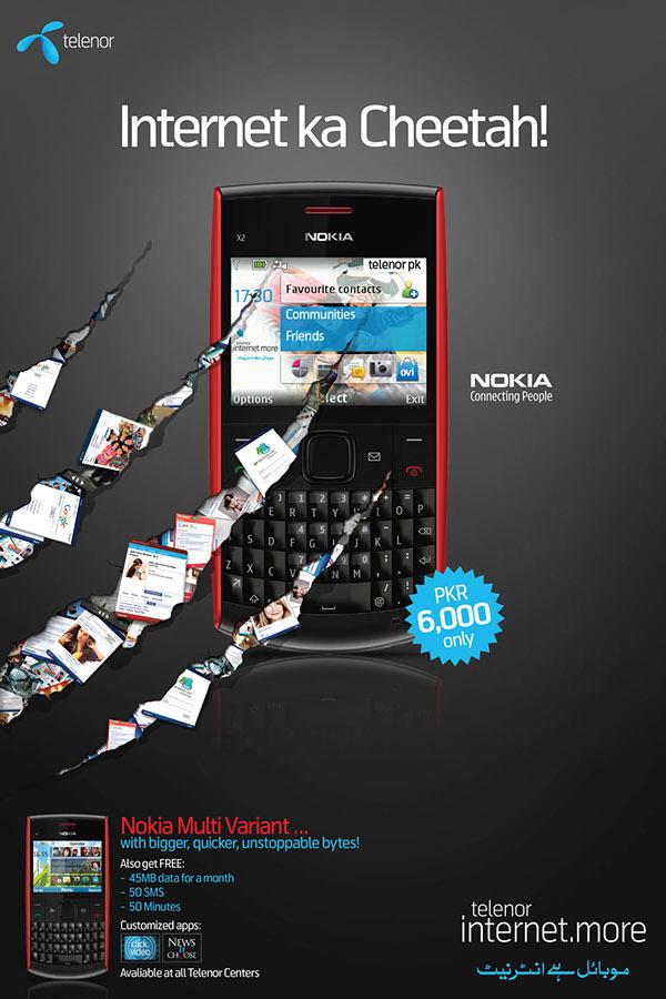 Telenor internet more (Nokia Multi Varient) on Behance