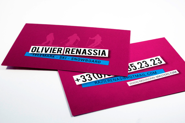 Business Cards Carte De Visite On Behance