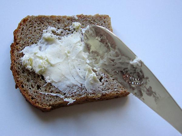 butter frozen grater steel knife Inox Food  design food design kitchen flatware