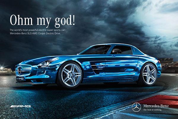 Mercedes benz sls amg electric drive on behance for Mercedes benz electric drive