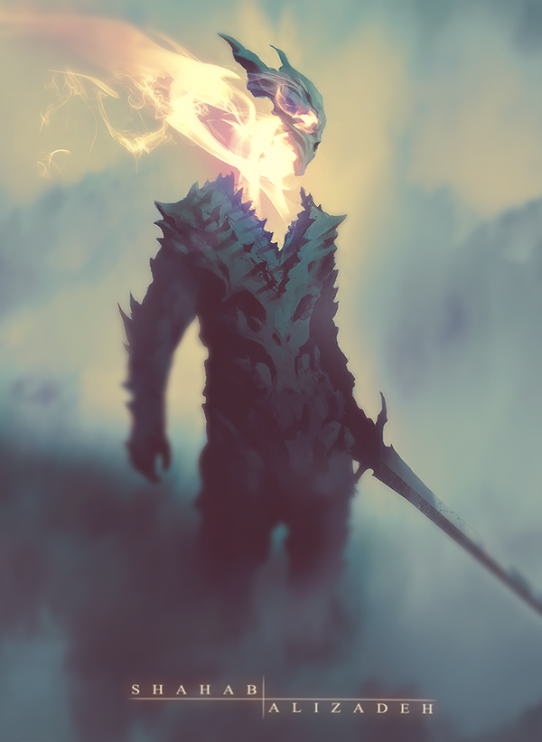 Dragon Soul by Shahab Alizadeh