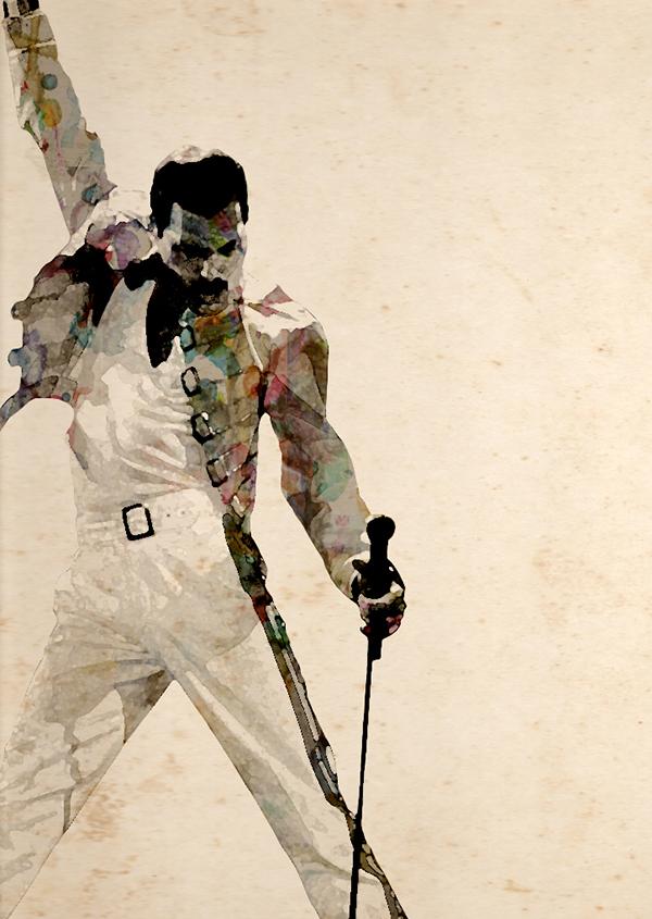 flyer Freddie Mercury