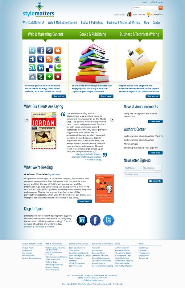 literature review website development