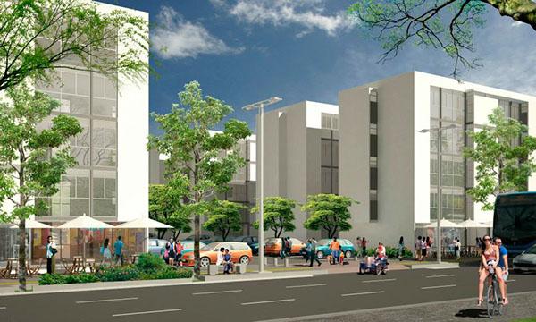 Urban Design edificio vivienda social