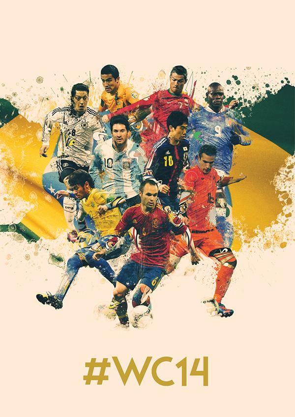 World Cup Creative Portraits 2014