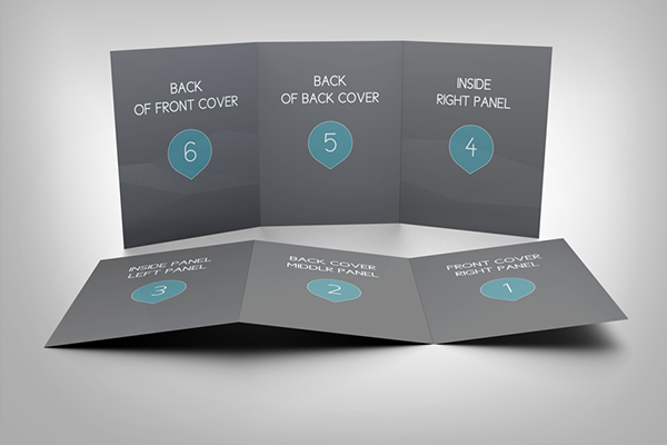 professional tri fold brochure mockup on behance