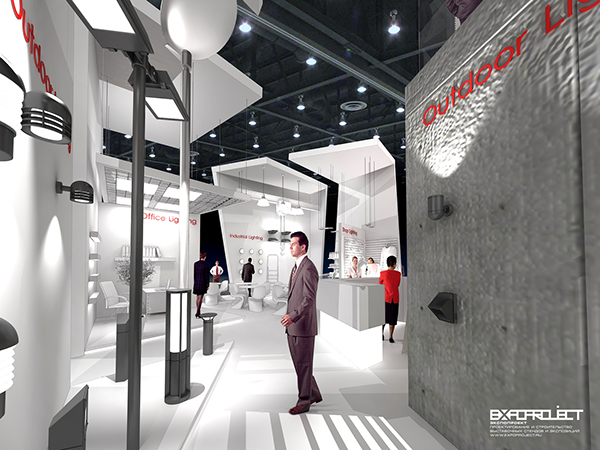 Exhibition Stand Lighting Jobs : Exhibition stand lighting technologies on behance