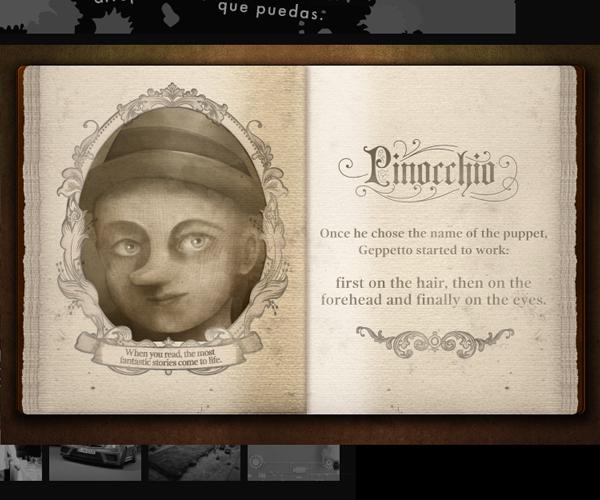 gandhi  Books pinocchio