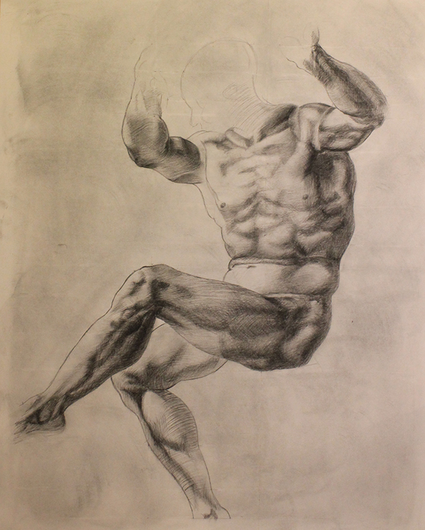 Michelangelo A Study Of Anatomy 2 On Behance