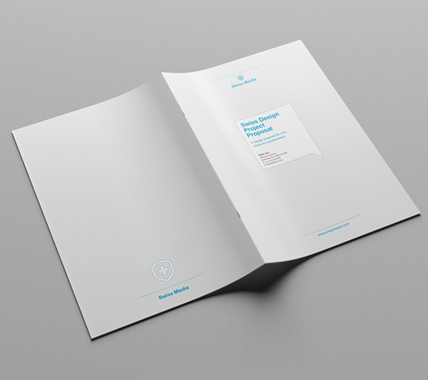 Proposal template suisse design v2 on behance minimal and professional project proposal template for creative businesses created in adobe indesign photoshop microsoft word and apple pages flashek Images