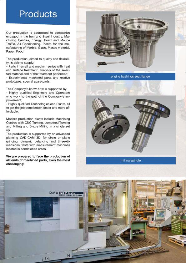mechanical precision milling construction balancing cad CAM