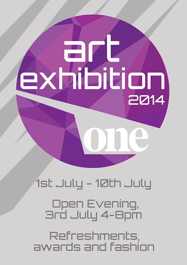 Suffolk One Art Exhibition Poster Design on Behance