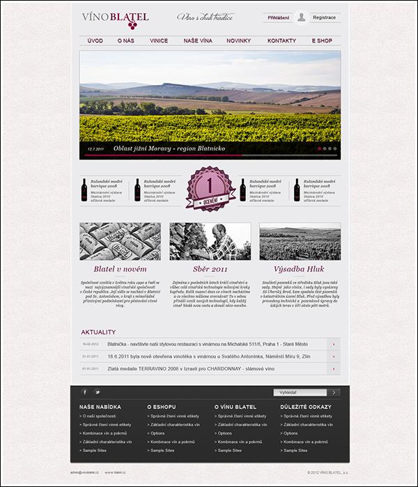 wine  e-shop Czech vineyard  vinoblatel  blatel