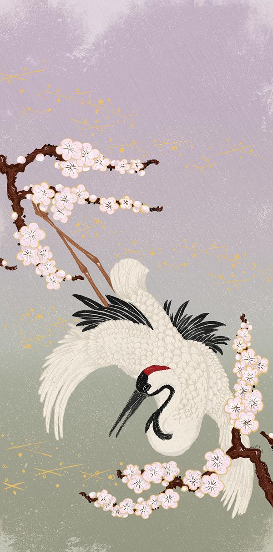 Japanese Crane on Behance - photo#6