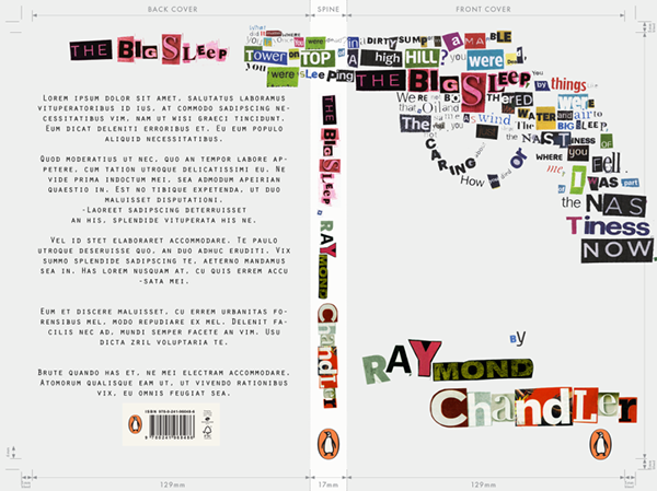 the big sleep raymond chandler cover book cover book books type