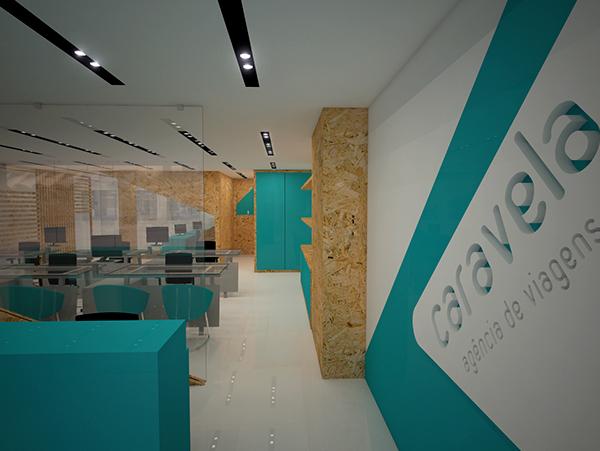 Travel agency on behance for Interior design agency vietnam