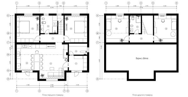 "Interior Design of 2-story private house ""MINIMALIST"""