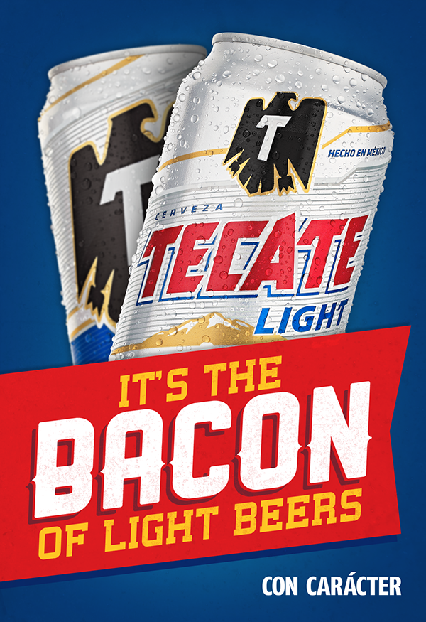 Tecate light ooh campaign on behance mozeypictures Choice Image
