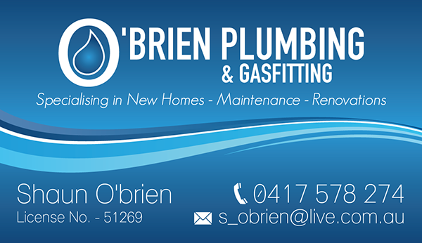 Plumbing business card on behance colourmoves