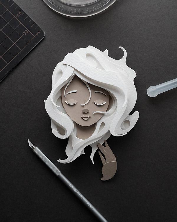 極美的27個立體紙雕作品欣賞