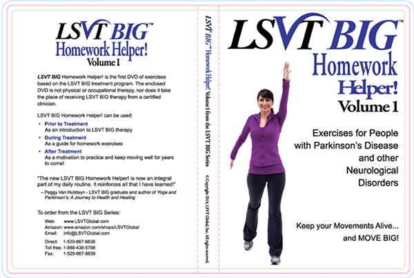 Lsvt big homework helper dvd