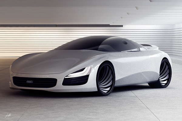 Audi Concept On Behance