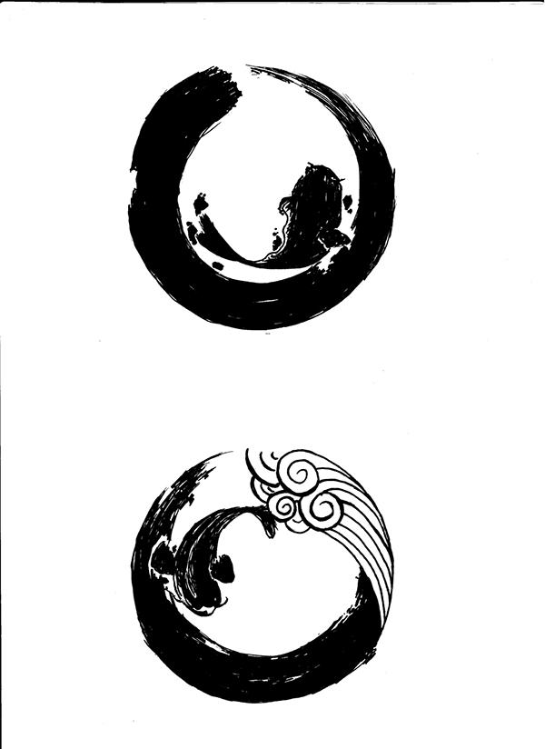 Logo Design Ishin Japanese Dining Rebranding On Behance