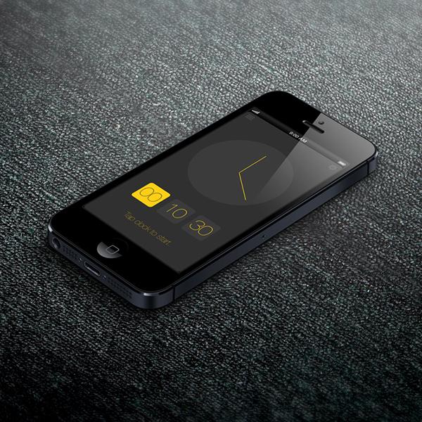 iphone mobile snoring sleeping ios7 ios