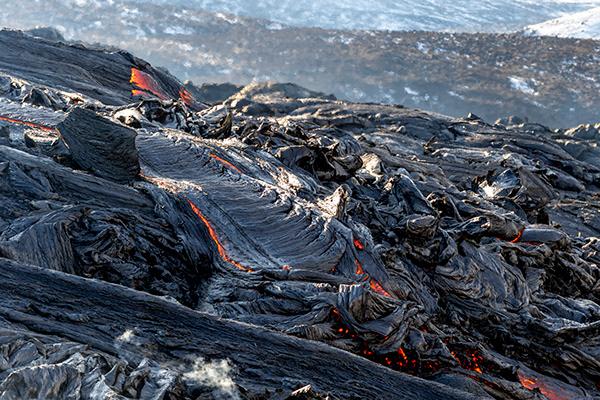 Volcanic eruption in Iceland pt. II