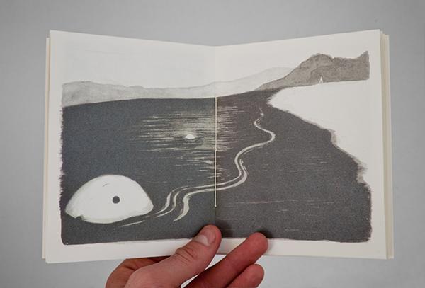 art book screen printed jordan metcalf warren editions Picture book hand made