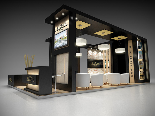 Exhibition Stand Design Egypt : Rixos sharm el sheikh at wtm exhibition on behance