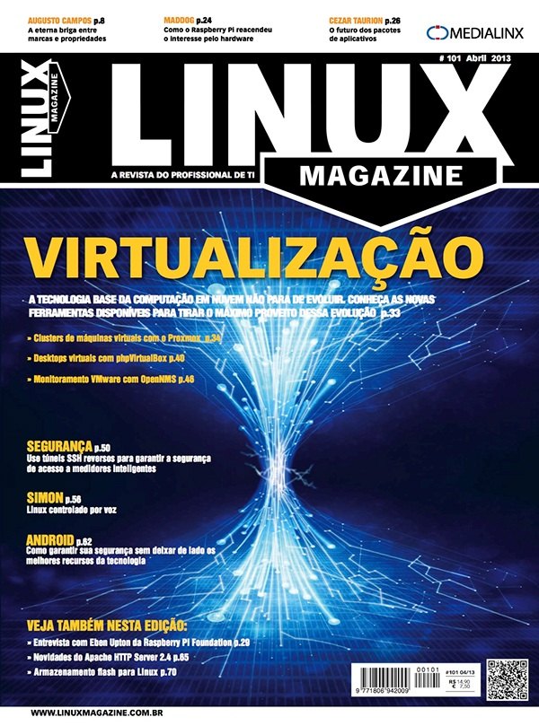 Revista Linux Magazine on Behance