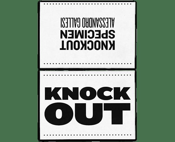 Knockout - Type Specimen