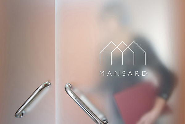 Naming and logo for architectural studio on behance for Interior decoration gst rate