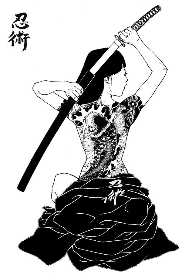 Yakuza Girl Outfit Yakuza Girl on Behance