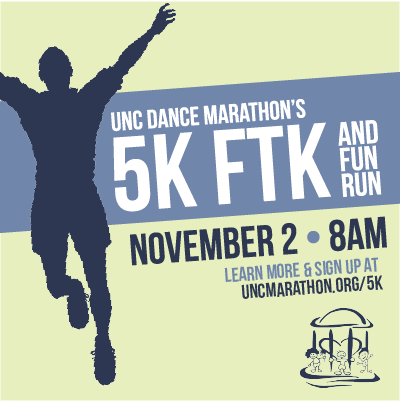 Unc Dance Unc Dance Marathon 5k Ftk on