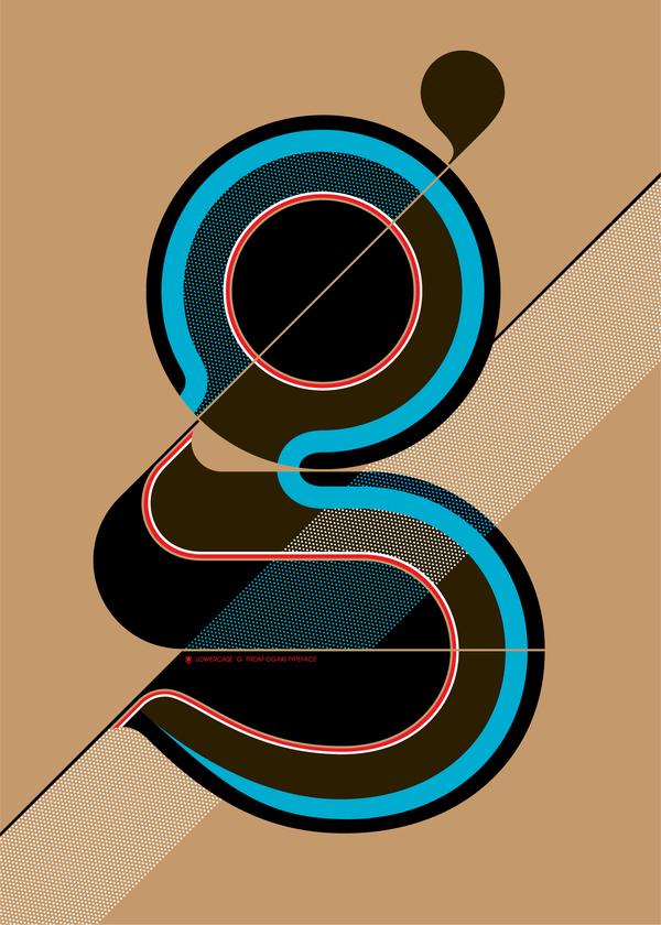 Typograpic Posters II by Áron Jancsó