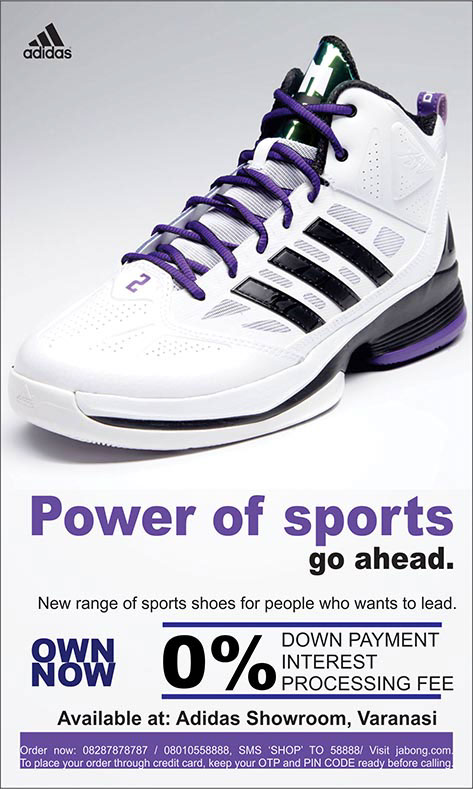 Adidas Shoes Poster Press Advertisement On Behance