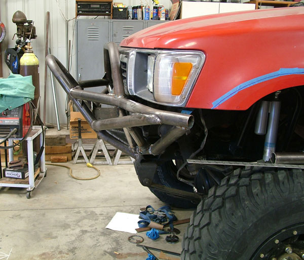 Toyota Bakersfield Ca: Part 2: Bumpers And Roll Cage On Behance