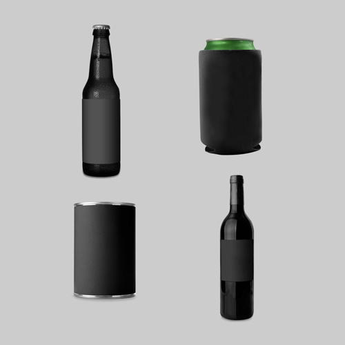 Bottle and Can Mockup Templates on Behance