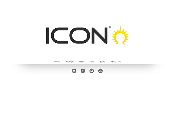 ICON Agency Website mobile
