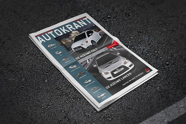 jeroen rijpstra AutoRaggers Mitsubishi Autokrant